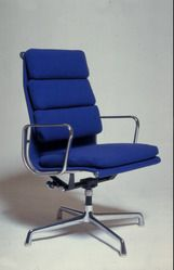 #Eames Soft pad chair in the permanent collection of Yale University Art Gallery