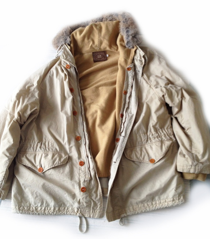 CP Company, Rubber wool parka