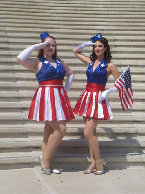 Coconut Love: Calling All Nerds: Captain America USO Girl Costume