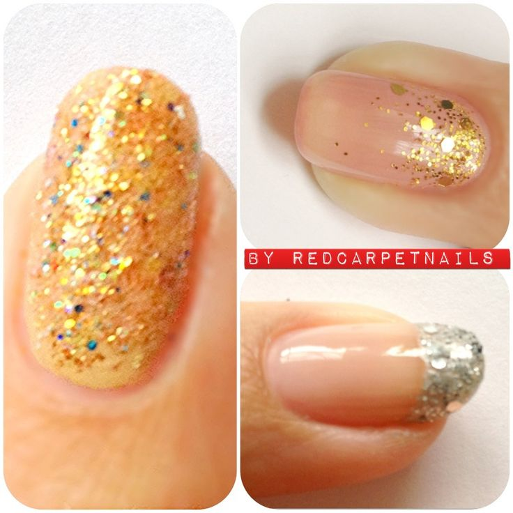 #wedding #bridle #prom #glitter #nails by Manicurism £15.