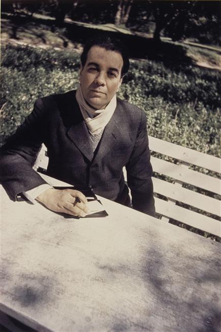 Jorge Luis Borges, Buenos Aires; Auteur: Freund Gisèle