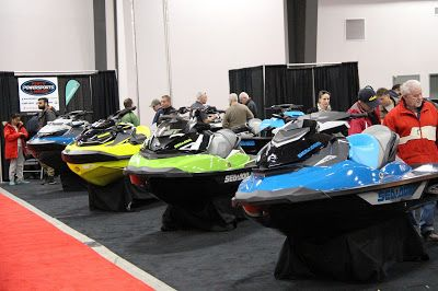 Some of the Displays at the 2018 Ottawa Boat Show