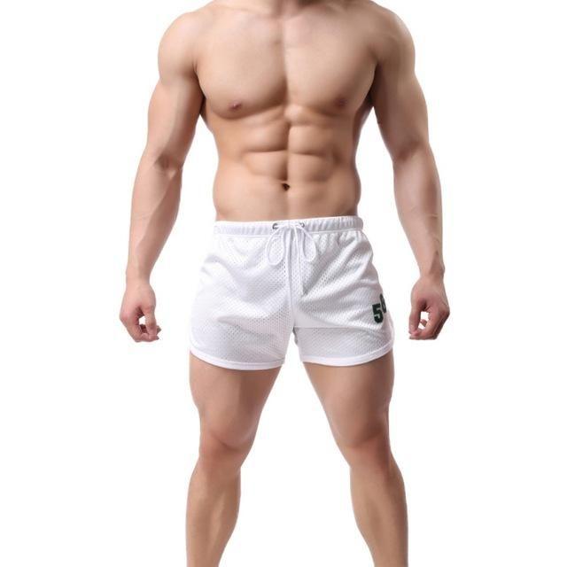 Men Summer Shorts Casual Trunks Slimming Mens Beach Short Pants Male Fitness Sho…
