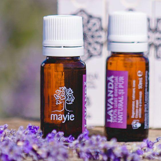 Descriere Ingrediente Garantia calitatii Mayie Uleiul esential de lavanda Mayie este 100% natural si este conceput pentru toate tipurile de piele, cu efect rege