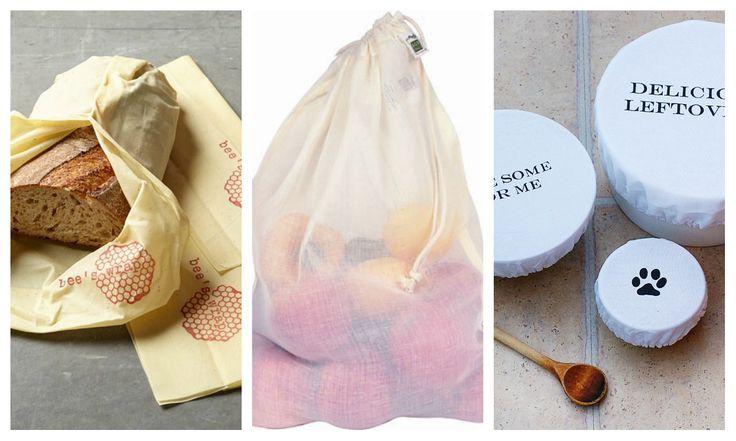 Økovennlig og plastfri oppbevaring av mat –