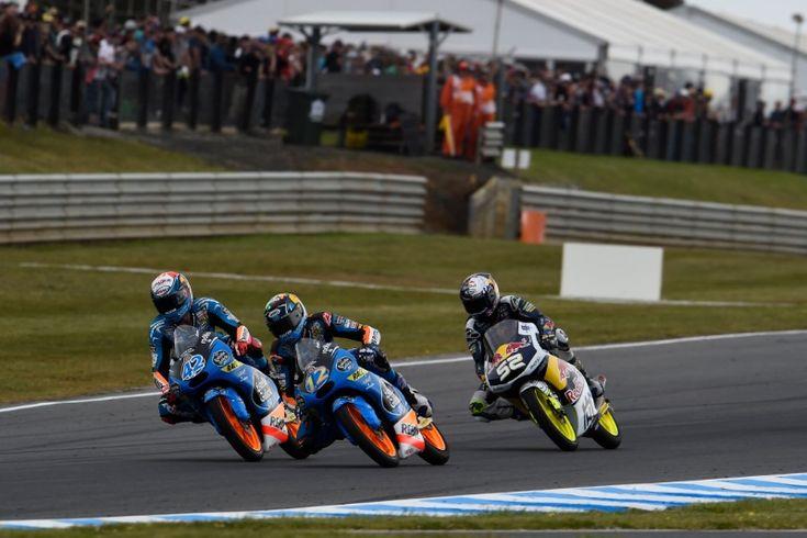 Alex Marquez, Rins, Australian Moto3 Race 2014
