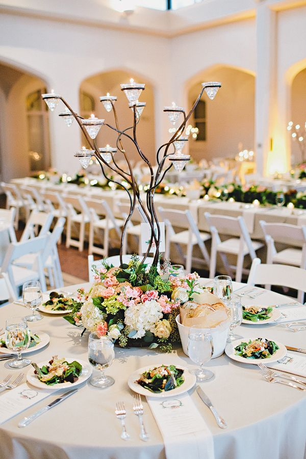 Branch Wedding Centerpiece | photography by http://www.amyarrington.com/