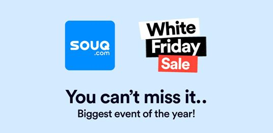 Souq Saudi Don't Miss White Friday Offers !! It Started Now!! Up to 70% Discounts Big Chance to get what you want with the best price ever !! Shop Now! #7ashop #Your_Shopping_Destination #Shopping_Comparison