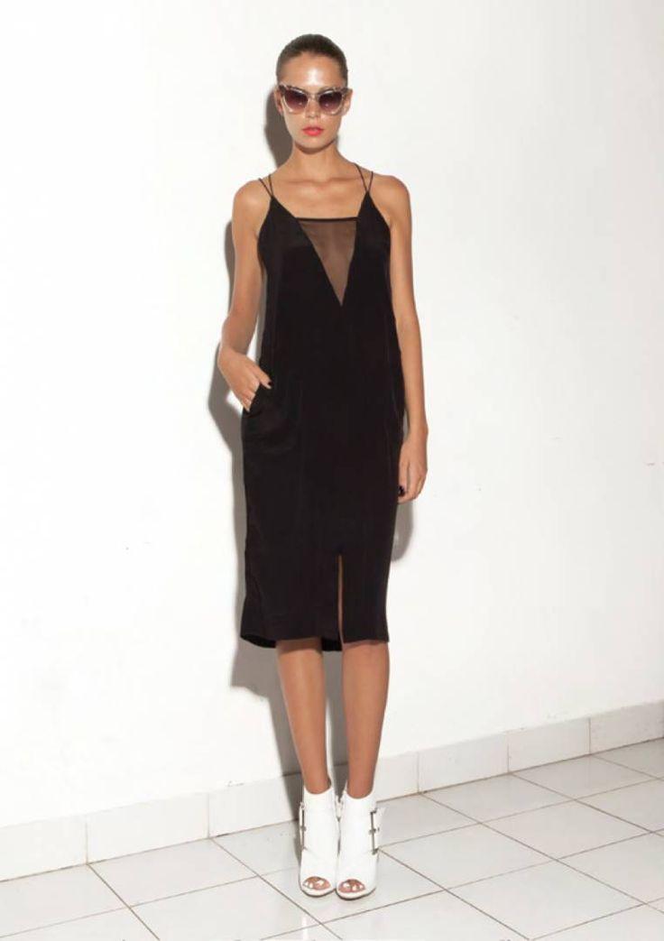 S/W/F - Prue Dress - Onyx