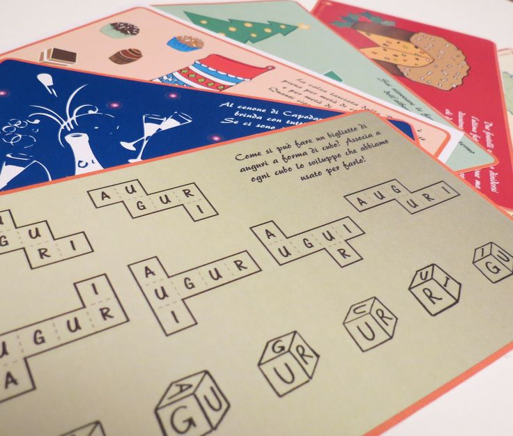 Biglietti natalizi di auguri per aggiungere un tocco di matematica ai regali