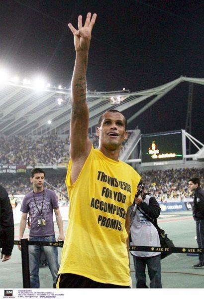 Η ΙΣΤΟΡΙΑ ΜΑΣ | AEK F.C Rivaldo  4-0