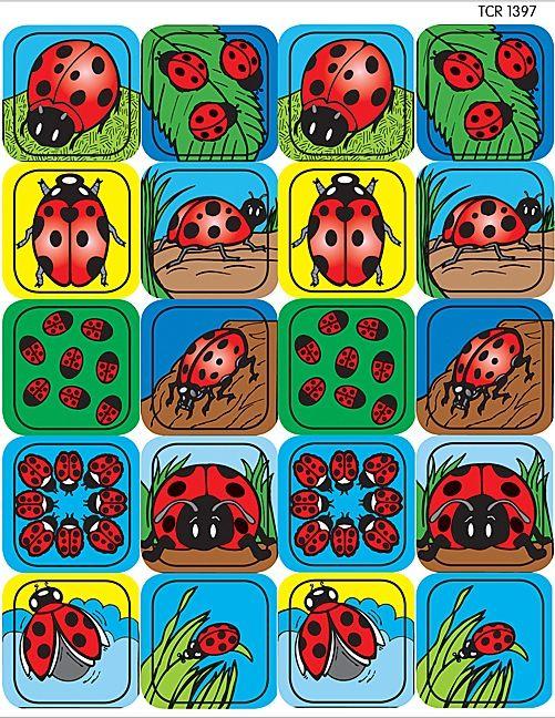 Ladybugs Stickers