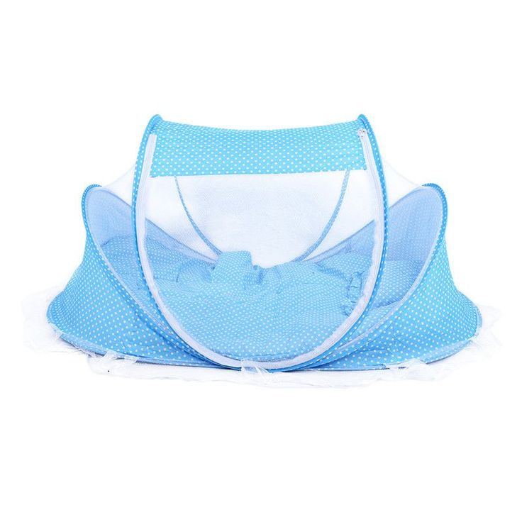 Portable Baby Bed Foldable Baby Crib With Mosquito Net