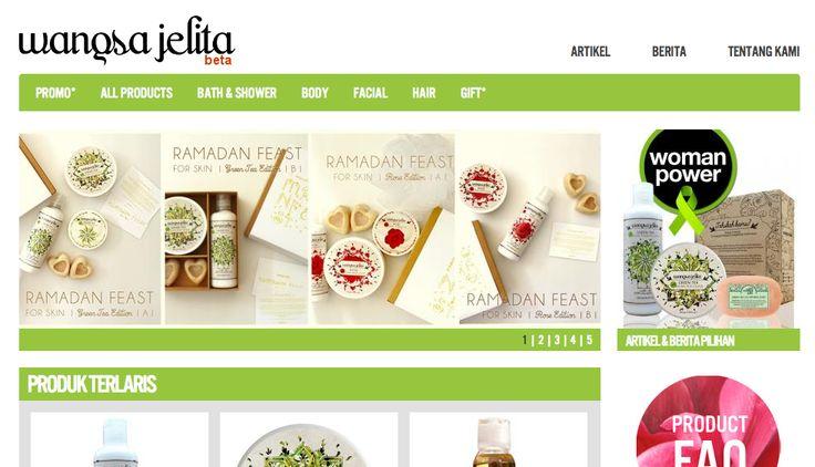 100% made in indonesia natural products. www.wangsajelita.com