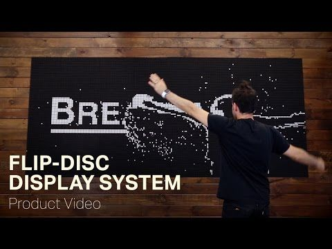 BREAKFAST - Flip-Disc Display System - YouTube