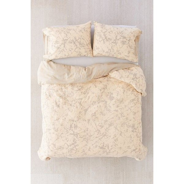 Batik Crackle Duvet Cover (£125) ❤ liked on Polyvore featuring home, bed & bath, bedding, duvet covers, king duvet insert, queen duvet insert, batik bedding, twin duvet insert and modern king bedding