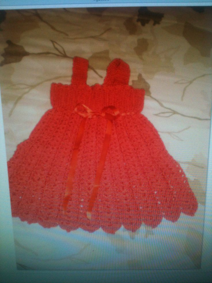 solero para beba tejido al crochet solero pinterest