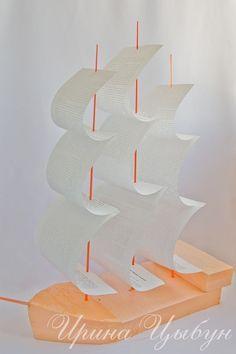 Корабль из конфет. Мастер-класс. - Поделки из конфет - Поделки из конфет - Каталог статей - Рукодел.TV