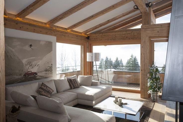 Gemütliche Couchecke in eigener Wohnung in Kitzbühel