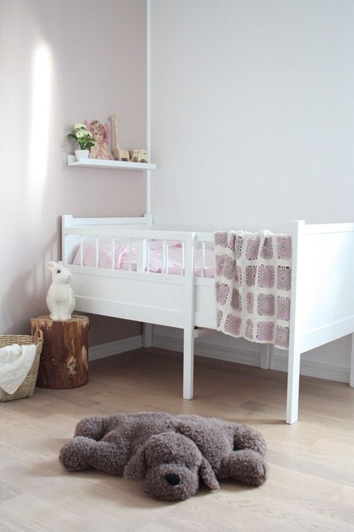 Soft colors in the kidsroom
