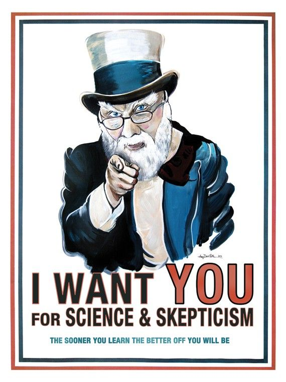 Science and Skepticism James Randi 18x24 Poster Art by by surly