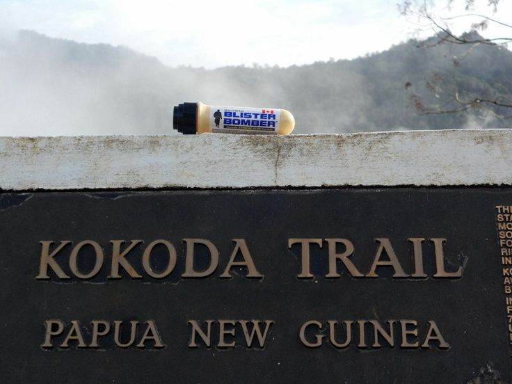 MISSION accomplished Kokoda Trail was a blister & chafe free journey Blister Bomber trekkers see more... http://www.intunehealthonline.com.au/#!blister-bomber/ck0b