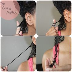 How to Master the Coil Curling Method. Click for an all natural conditioner formulated to moisturize, strengthen, and detangle your curls