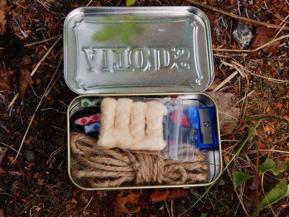 And while you're at it, a fire-starting kit in an accompanying Altoid tin. | 19 Things That Will Actually Help You Survive The Zombie Apocalypse