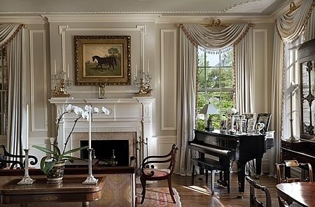 Georgian Revival Addition - Lexington, Kentucky - Fairfax & Sammons Architects - Classical & Traditional Architects NYC