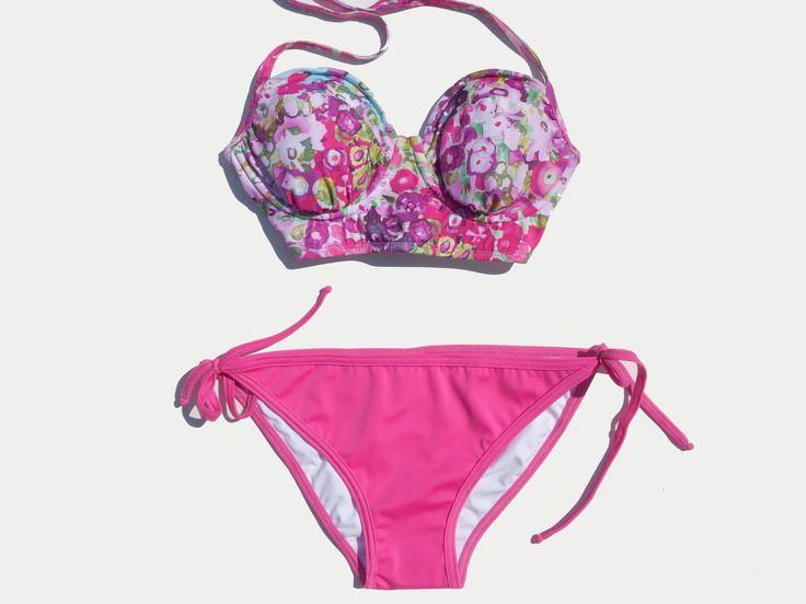 Pink Flower Bustier