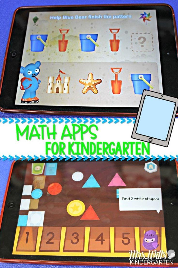 8 Awesome Kindergarten Math Apps Kindergarten math