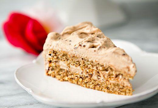 Walnut Mocha Torte Recipe   Simply Recipes wonderful special occasion cake