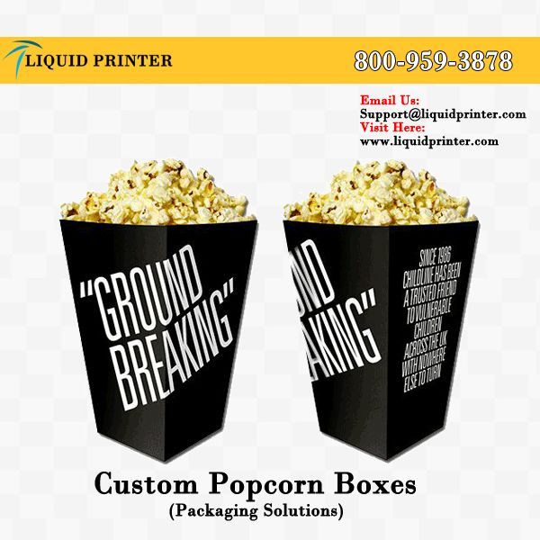 Here we provide #popcornboxes with full color printing service. Order online and get 10% discount.