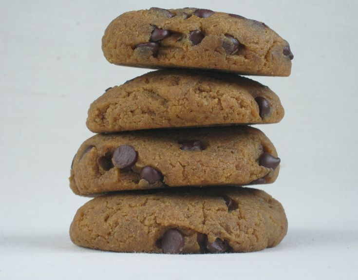 Grain-Free Peanut Butter Chocolate Chip CookiesCoconut Flour Cookies, Low Sugar, Chocolate Chips, Chips Grainless, Chocolates Chips Cookies, Butter Chocolates, Grains Free, Peanut Butter, Real Food