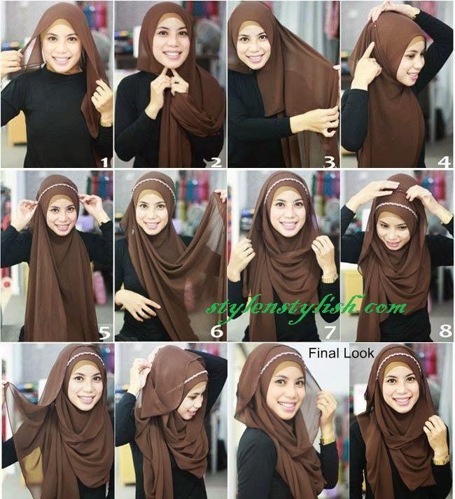 plain hijab