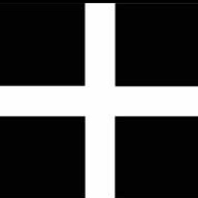 Flag of Cornwall - Kernow