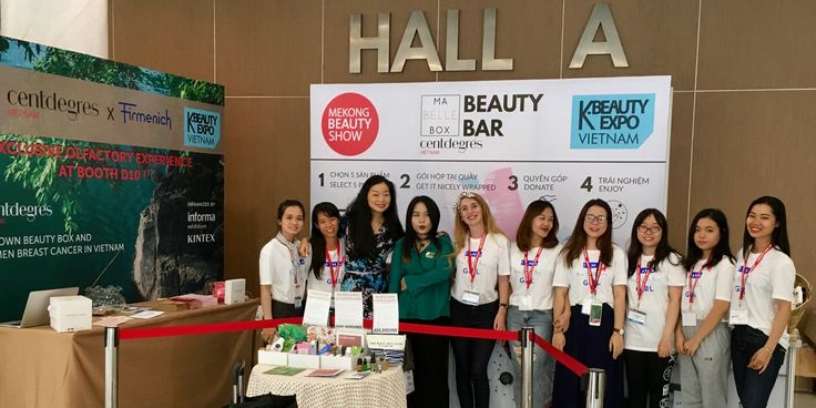 Story Seoul participates in Ma Belle Box to raise funds for  Breast Cancer Vietnam during Kbeauty Expo in Ho Chi Minh City.