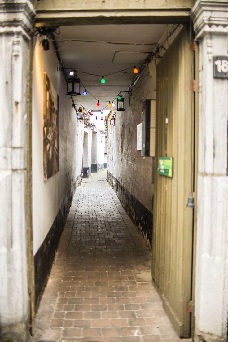 Cute alley in Antwerp, Belgium  Photography: Jeanine Polderdijk for ComMediArt
