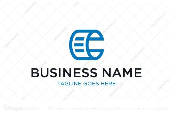 Exclusive Logo 77463, Letter C Document Logo Buy ready made logo