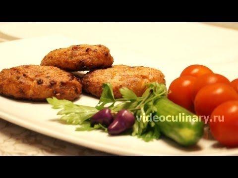▶ Рецепт - Котлеты из рыбы, запеченные в духовке от http://videoculinary.ru - YouTube