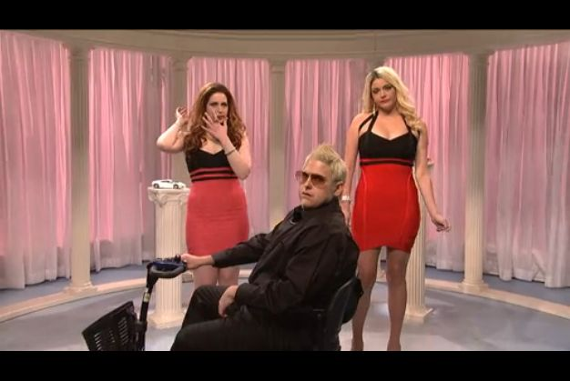 """[VIDEO] Marie Harf And Jen Psaki Sell Lambertinis On SNL September 7, 2014 — 0 comments Ever wonder what Marie Harf and Jen Psaki did before they worked for the State Department? So did we. And hey, is that Ben Rhodes on the scooter? After all, he was a driver for the Obama campaign before becoming the brains behind """"Arab Spring."""""""