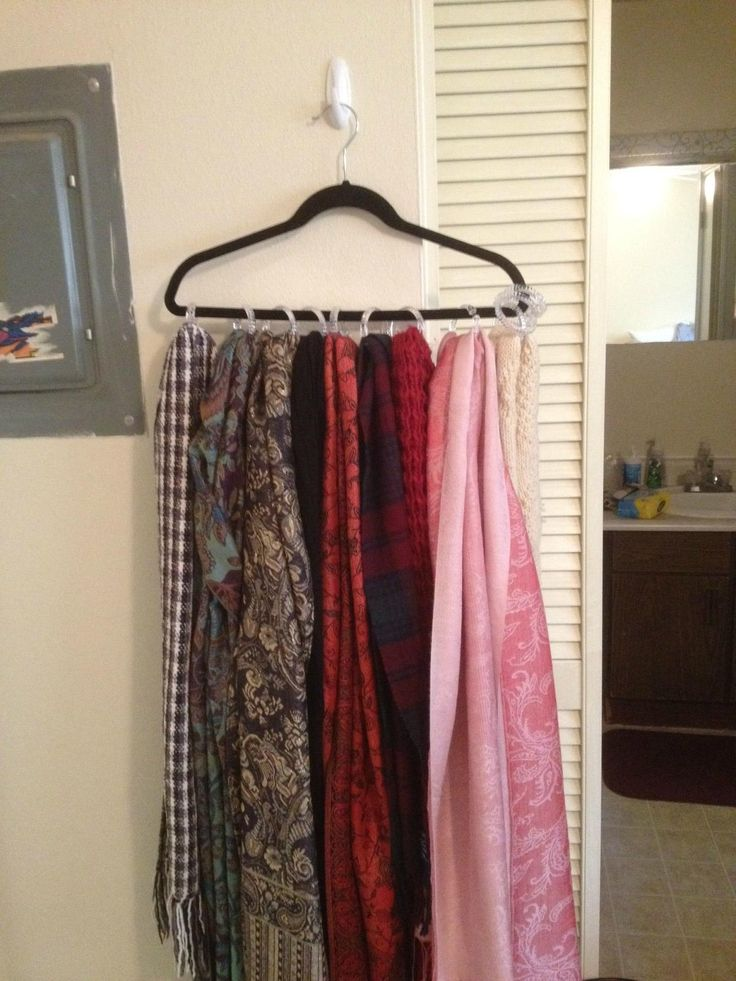 22 Best Images About Scarves On Pinterest Ladder Cafe Rod And Scarf Storage