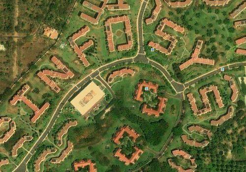 Infosys – Mysore (India) – hostel blocks
