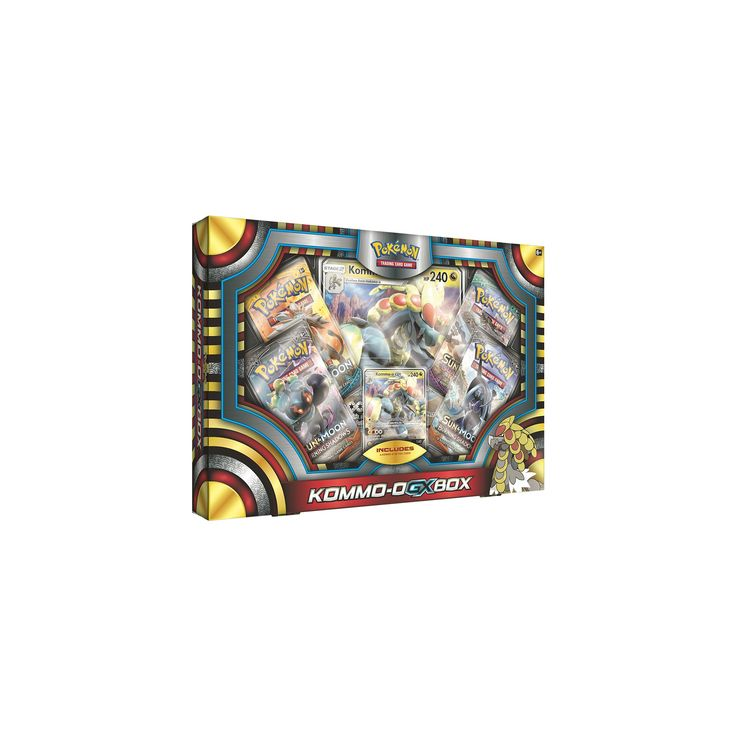 Pokemon Kommo-O-GX Box Trading Cards