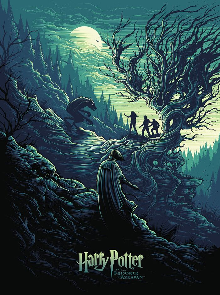 Harry Potter And The Prisoner Of Azkaban By Dan Mumford Home Of The Alternative Movie Poster Amp Harry Potter Movie Posters Harry Potter Illustrations Harry Potter Tumblr