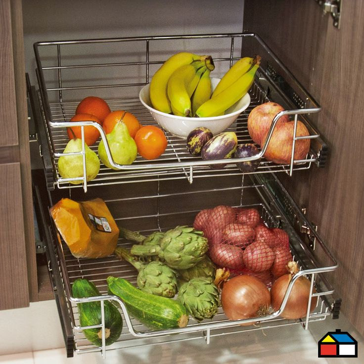 #Frutera #Cocina #Mueble #Organizador