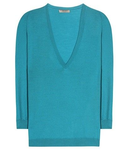 WOOL V-NECK SWEATER BOTTEGA VENETA