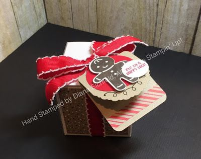 Stampin' Fun with Diana: SSINKspiration Gift Packaging: Cookie Cutter Christmas