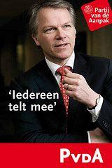 Poster PvdA (Partij van de Arbeid (PvdA)) Tags: poster bos verkiezingen pvda wouterbos verkiezingsposter verkiezingsaffiche partijvandearbeid iedereenteltmee
