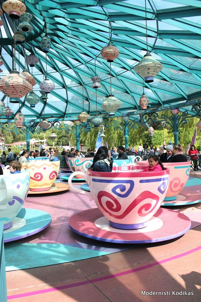 #Disneyland, #Pariisi. Kuva: Modernisti Kodikas -blogi